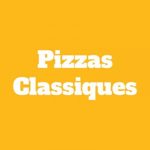 Pizzas Classiques